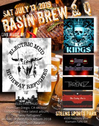 Basin Brew 2019 poster